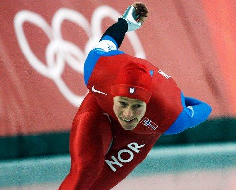 Petter Andersen, her i aksjon under OL i Torino i 2006, blir ny sportssjef i Norges Skøyteforbund neste år. Foto: Erik Johansen / NTB
