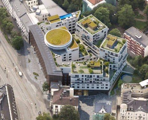 OMDANNES: Oslo Lysverkers klassiske hovedkontor fra 1931 omdannes nå til hotell.