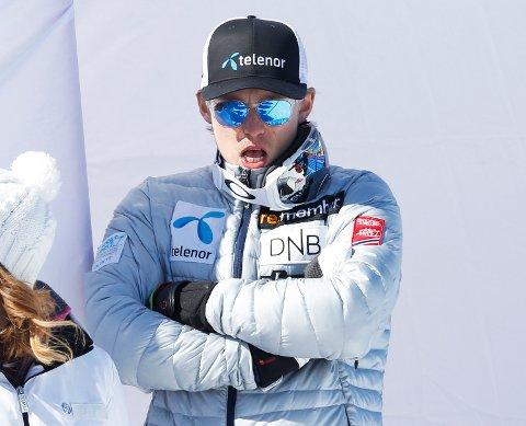 STEILE FRONTER: Etter to dager i retten er Norges Skiforbuhnd fortsatt ikke enige med Henrik Kristoffersen og hans representanter. Her er superalpinisten avbildet under verdenscupavslutningen i fjor.