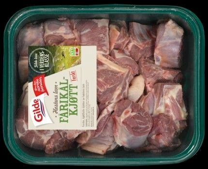Fårikål presentert på Norturas nettsider. Noe av kjøttet som er for salg i butikkene, ble slaktet allerede i fjor høst.