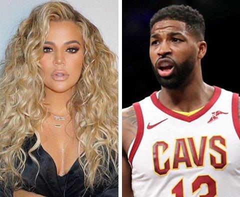 OPPSTYRET ER GLEMT: Tidligere i vår ble NBA-stjerne Tristan Thompson anklaget for å ha vært utro mot den da høygravide kjæresten Khloe Kardashian med flere kvinner. Nå skal Kardashian-/Jenner-klanen ha tilgitt basketspilleren.