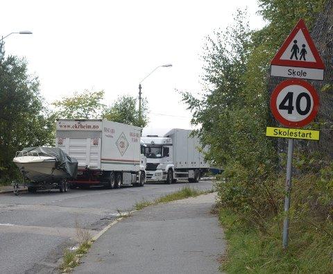 UØNSKET: Nordstrand BU er lei av at Herregårdsveien blir brukt til langtidsparkering. Foto: Nina Olsen