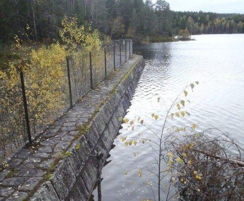 Dammene på Breisjøen (bildet) og Aurevann skal kontrolleres.