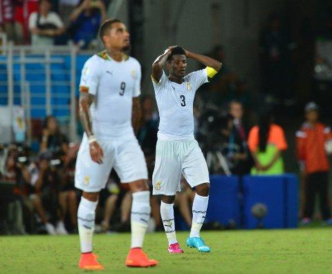 IKKE SANT: Ghana benekter opprør i VM-troppen.