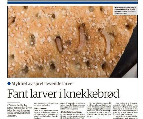 Faksimile Trønderbladet