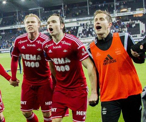 IKKE TIL TROMSØ: Benkesliter Morten Gamst Pedersen.