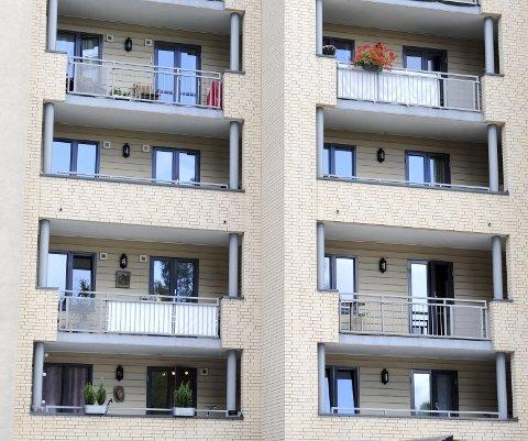 Oslo 20140813.Boligprodusentenes Forening la onsdag fram boligstatistikken for 1. halvår i år.18 prosent færre leiligheter er igangsatt dette halvåret.Foto: Terje Pedersen / NTB scanpix