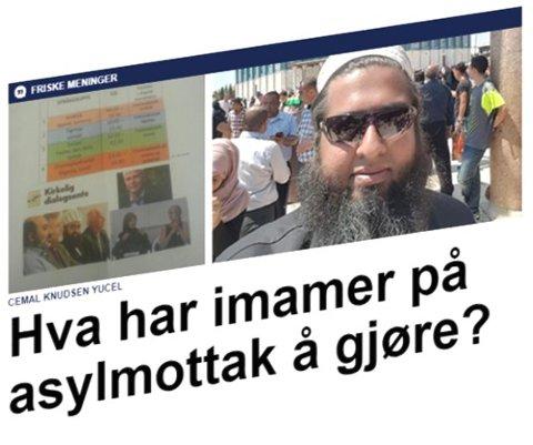 Det var Cemal Knuden Yucel som startet debatten om religiøse dialogmøter på asylmottak.