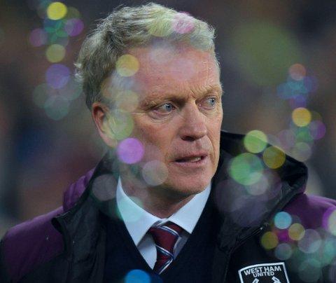 ENTUSIASMEN BOBLER IKKE: Manager David Moyes har en tøff jobb med å snu West Hams svake resultater. Fredagens oppvisning får neppe blodet til å bruse blant Hammers-tilhengerne.
