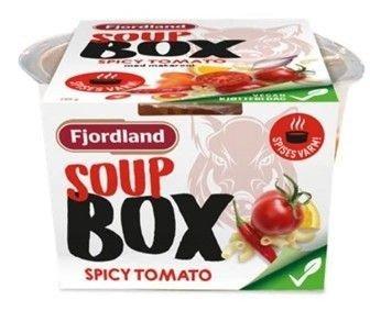 Denne tomatsuppen er ikke merket med egg på ingredienselisten. Det kan være farlig, hevder Fjordland.