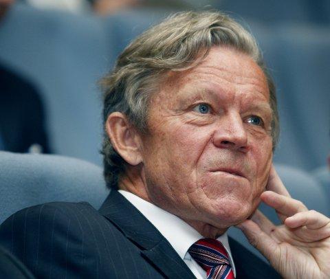 Thorleif Enger mens han fortsatt var konsernsjef i Yara i 2008.