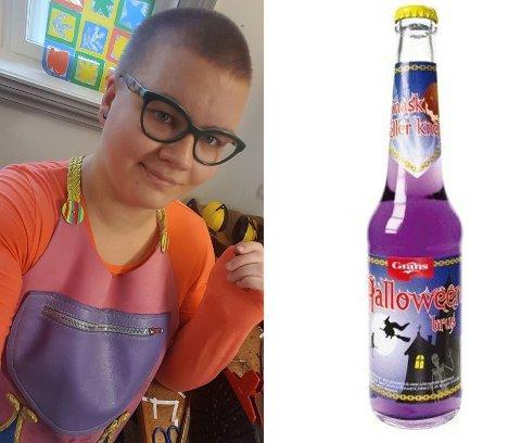 SAVNER HALLOWEENBRUSEN: Vilde Lindhjem driver en Facebook-side som ønsker Grans sin halloweenbrus tilbake i butikkhyllene.