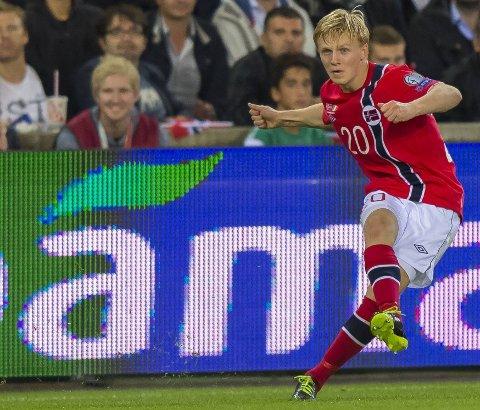 DEBUT: Mats Møller Dæhli spilte sin første kamp for Freiburg onsdag.