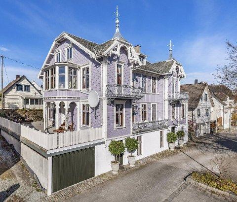 GAMMEL VILLA: Villaen er ført opp rundt år 1900, og Alexander Kielland vanket som gjest her noen år.