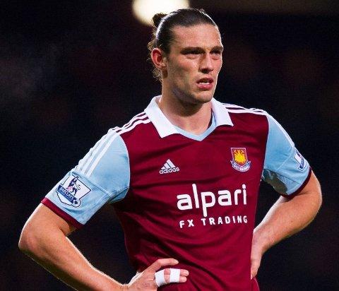 NOE Å REVANSJERE: Andy Carroll ønsker nok å vise seg fra sin aller beste side når West Ham tar i mot Liverpool søndag.