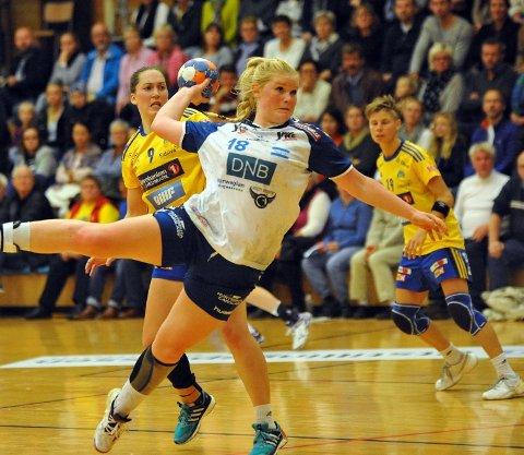 Silje Sæthre scoret på fire av fire mot Storhamar