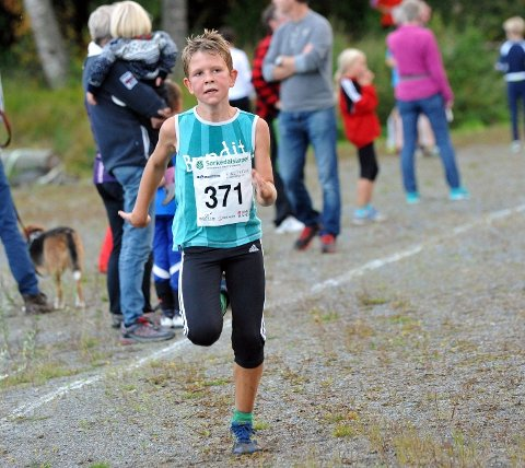 Halvor Nord Meland løp i mål på tiden 1:11:28.7 på 11 kilometeren.