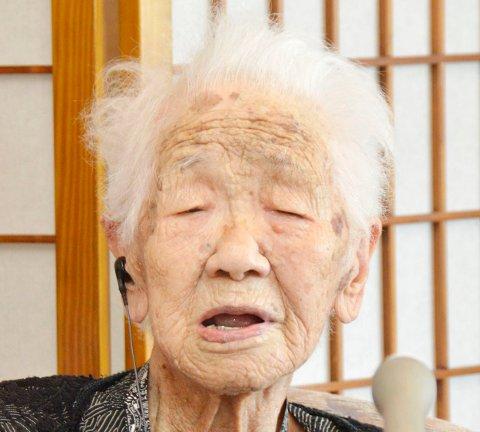 Kane Tanaka deltar ikke i fakkelstafetten foran Tokyo-OL. Foto: Kyodo News via AP / NTB
