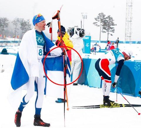 ROSSIGNOL: Iivo Niskanen gikk på Rossignol-ski da han vant 50-kilometeren i OL. Martin Johnsrud Sundby mener den franske skiprodusenten har truffet meget bra på føret i Pyeongchang.