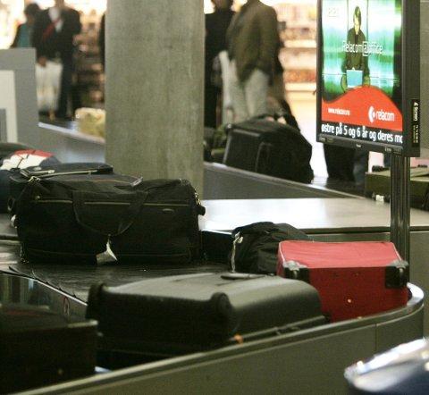 Bagasjehåndteringen til Norwegian, SAS og enkelte andre flyselskaper blir rammet dersom meklingen mellom Fellesforbundet og NHO Luftfart ikke fører fram. Da går 409 bakkeansatte ut i streik, noe som kan gi både bagasjekrøll og forsinkelser på Oslo lufthavn.(Illustrasjonsfoto).