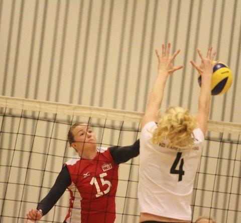 BEST: Hilde Elvebakk var semifinalens beste poengplukker med 20 poeng.