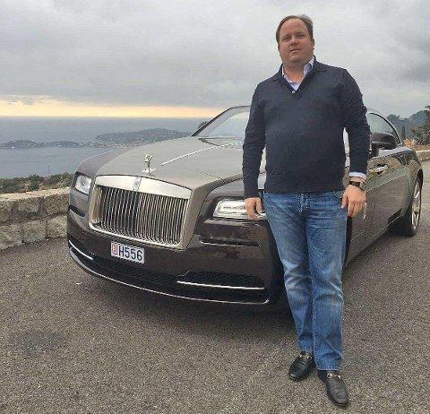 FIKK RETT: Alexander Hansson eier High Seas AS, som er største aksjonær i Photocure. Han er bosatt i Monaco, og har vært i konflikt med selskapets ledelse det siste året.