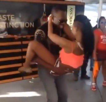 DAGGERING: Dansen som Usain Bolt her bedriver skal ha eksistert på Jamaica i en årrekke.