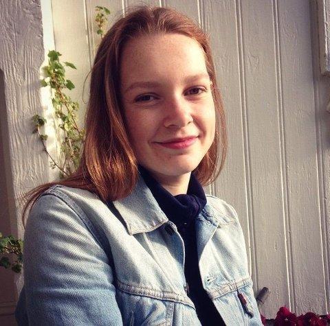 ORDFØRERKANDIDAT: Eirin Holm Løvstad (19) håper hun blir stemt inn i kommunestyret. - Jeg er et friskt pust inn i kommunestyret som taler ungdommens sak, sier hun.