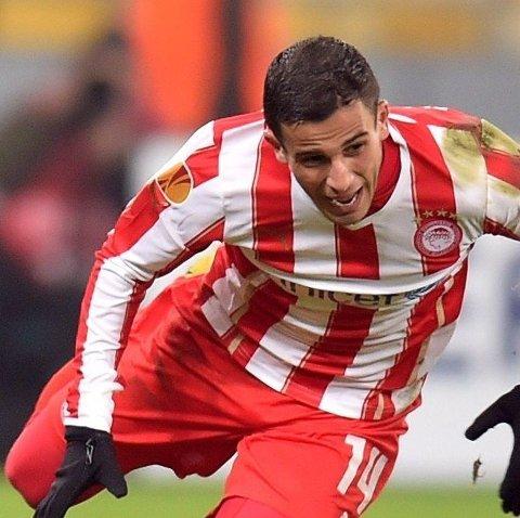 MOT CUPFINALE: Omar Elabdellaouis Olympiakos er på vei mot cupfinale i Hellas.