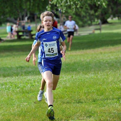 Tobias Lømo kom i mål på tiden 19.52.