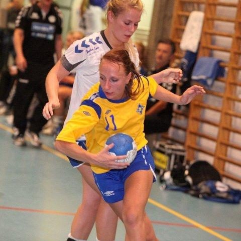 Fire mål: Marthe Johansen scoret fire mål mot Glassverket.