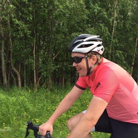 TRIVES PÅ SYKKELSETET: For Espen Gavin (26) ble det syklingen som ble løsningen for å redusere kroppsvekta.