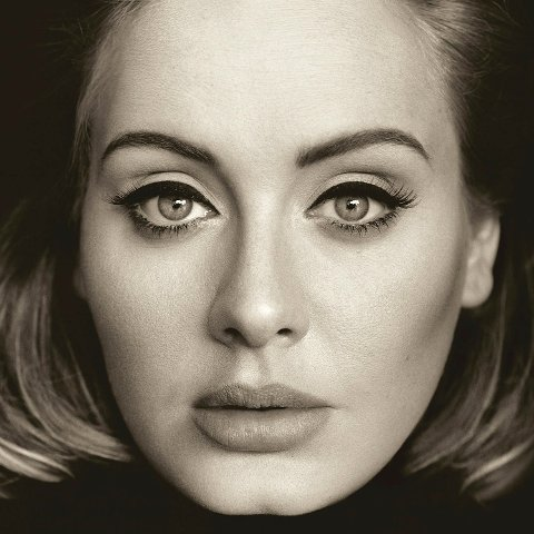 """This CD cover image released by Columbia Records shows, """"25,"""" the latest release by Adele. The singers hotly anticipated album is out Friday, Nov. 20, 2015. (Columbia Records via AP)"""
