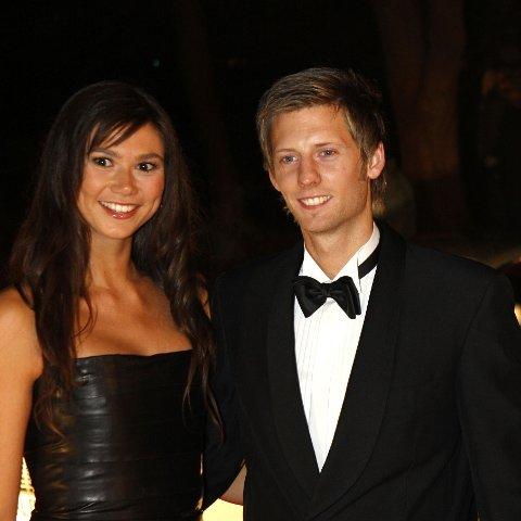 Silje Hvarnes og Gaute Grøtta Grav i 2008. Nå har paret flyttet fra hverandre.