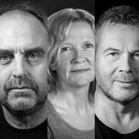 SLEIVSPARK: Bevilgende myndigheter må av og til tåle både kritikk og sleivspark fra kunstnere, mener teatersjefene Kristian Figenschow, Guri Johnson og Ketil Høegh ved Hålogaland Teater.