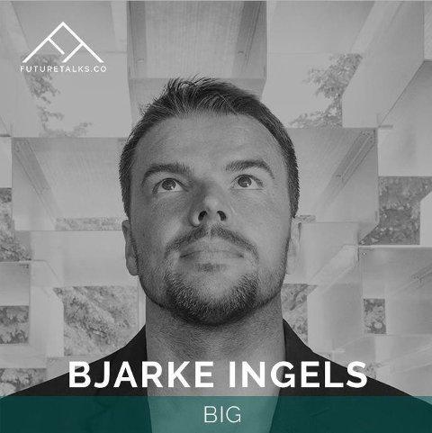 Bjarke Ingels - verdenskjent arkitekt som blant annet bygger en by på mars - kommer til FutureTalks