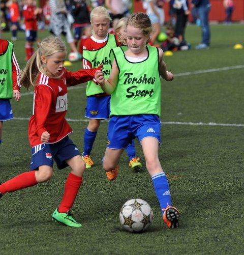 Eline Aasdalen koste seg under Bendit Cup.
