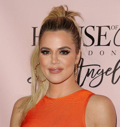 NYBAKT MAMMA: Khloe Kardashian ble mor til lille True forrige uke. Navnevalget har allerede gitt folk på Twitter mye å more seg med.