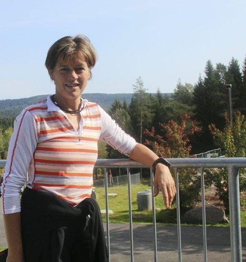 FORNØYD MED UTVIKLINGEN: Grete Nykkelmo er fornøyd med hva de har fått til i Team Kollen siden oppstarten i 1998.