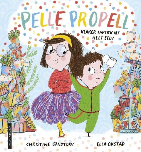 KLARER SELV: Du har kanskje vært borti barn som skal klare ting selv? Det gjør Pelle Propell også.