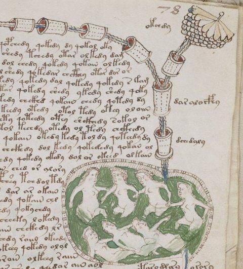 MYSTERIUM: Voyenic-manuskriptet forbløffer fortsatt forskere. Ingen har klart å tyde teksten, men man tror det er en legebok.