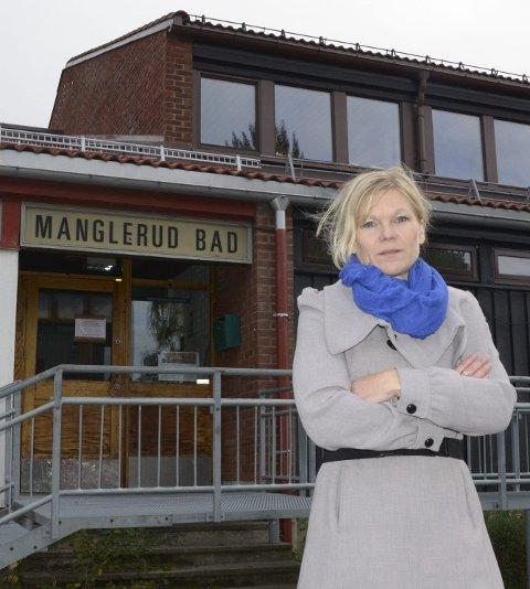 FORNØYD: Tina Rødahl roser det lokale engasjementet for å bevare Manglerud Bad. Arkivfoto: Nina Olsen
