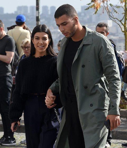 Kourtney Kardashian og Younes Bendjima i Paris