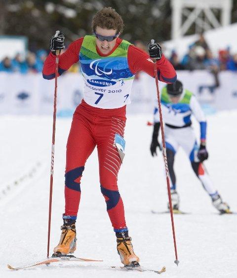 SØLV I SOTSJI: Nils-Erik Ulset tok Norges første medalje.