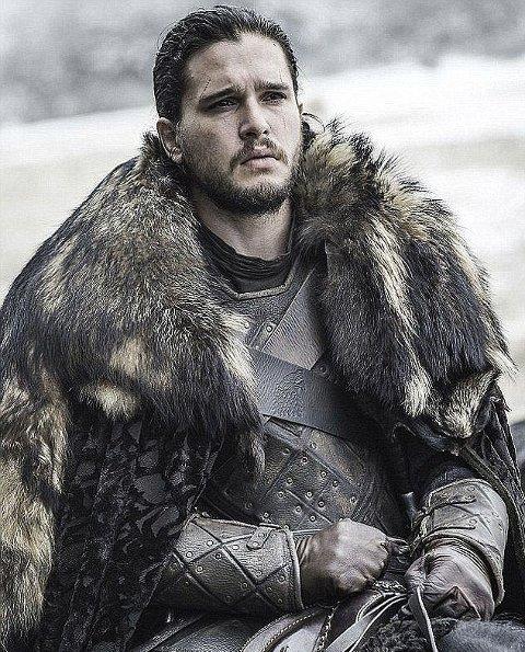 JON SNOW: Handlingen i sesong 7 av Game of Thrones skal være lekket på nett.