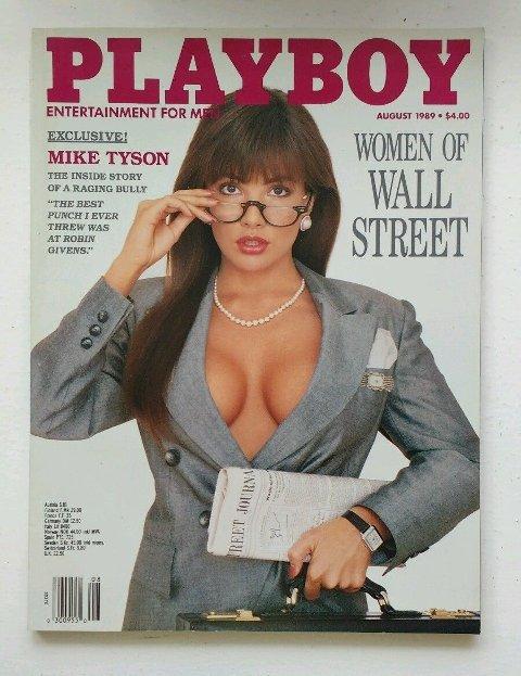 KONTROVERSIELT: Kvinner og makt var ikke like populært hos amerikanske magasinlesere. Utgaven med nakne børsmeglere ble det bråk rundt.