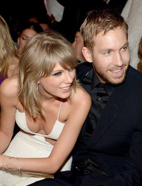 KJÆRESTER: Taylor Swift og Calvin Harris har vært sammen i rundt et år. Nå nyter de juleferien sammen.