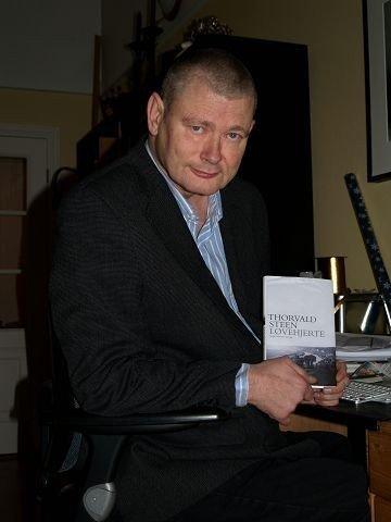 Forfatter Thorvald Steen har jobbet med research til boken «Løvehjerte» i seks år. Nå er den endelig klar.