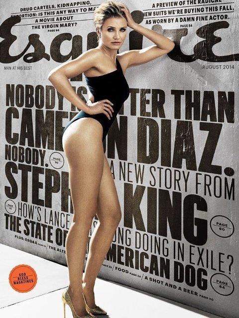 LANGBENT SKJØNNHET: Cameron Diaz fyller 42 år i august.