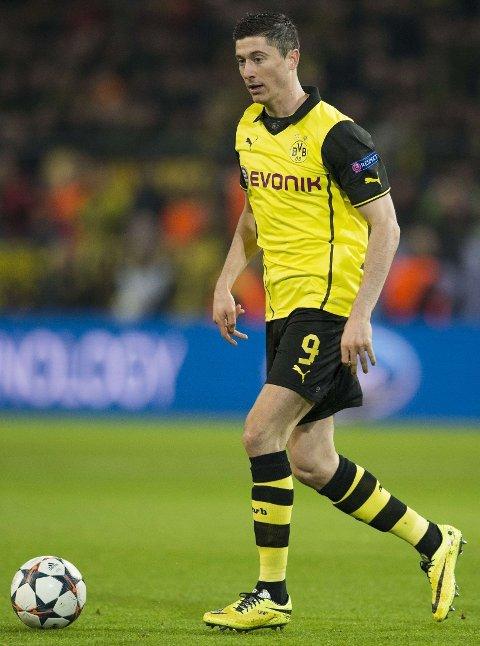 TIL BAYERN MÜNCHEN: Borussia Dortmund har funnet spilleren som skal erstatte Robert Lewandowski.